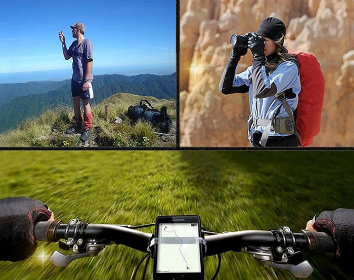 Hiking cycling solar panel
