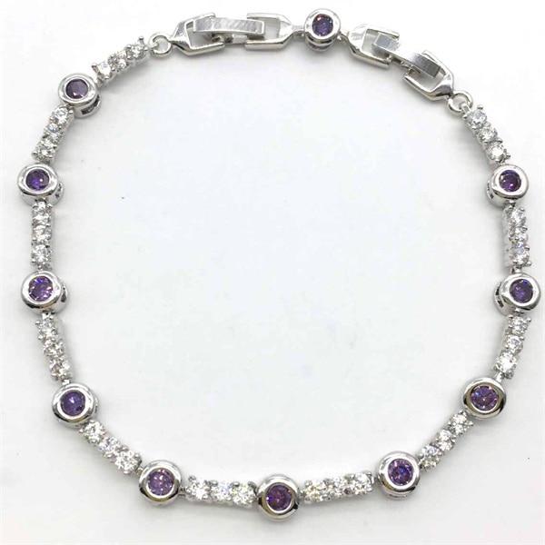 Wholesale Jewelry Aaa Cubic Zironia Stone Cz Charm Roma Bracelet For