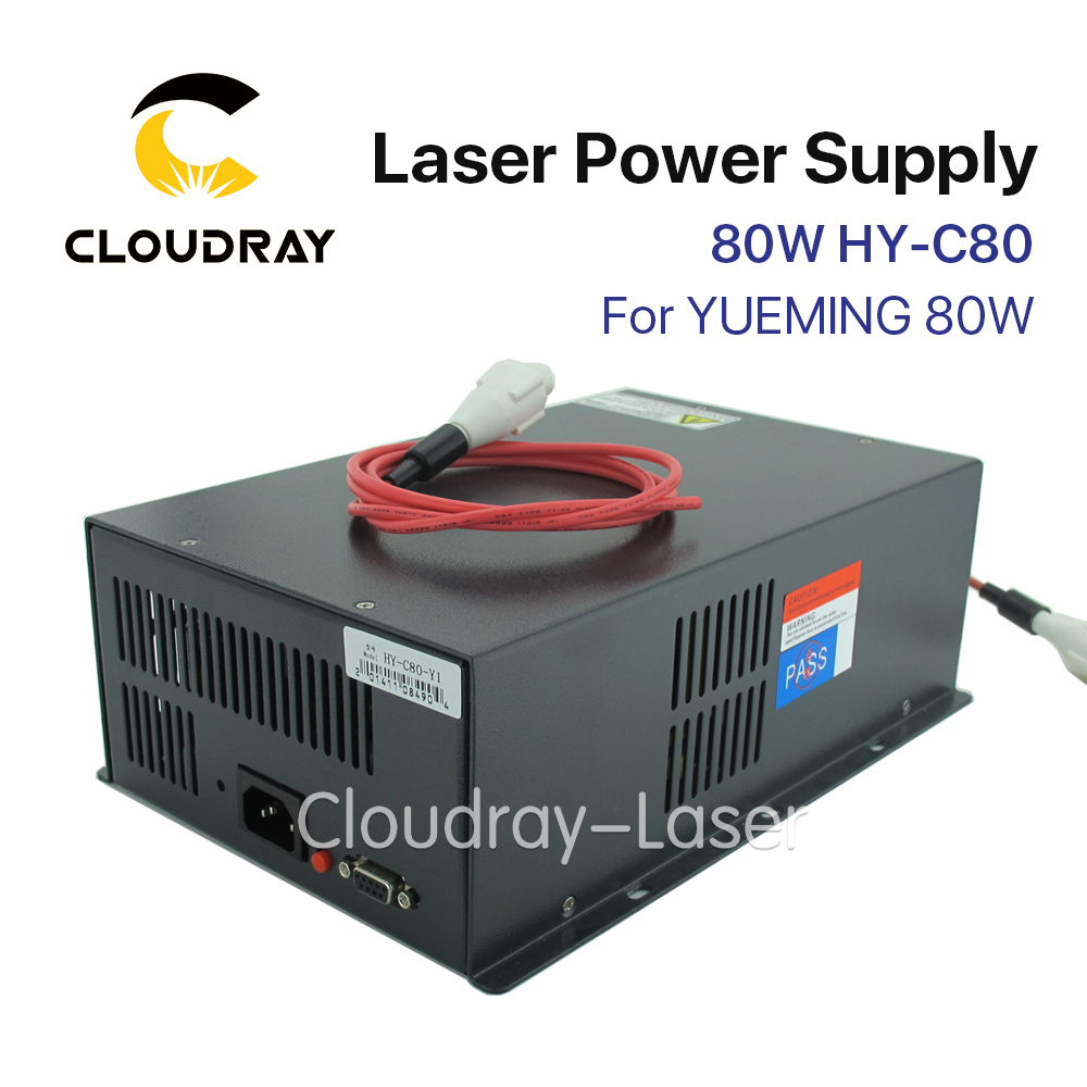 cloudray 80w co2 laser power supply for co2 laser engraving cutting machine myjg 80w category Cloudray Co2 Laser Power Supply 80W For YUEMING Engraving / Cutting Machine