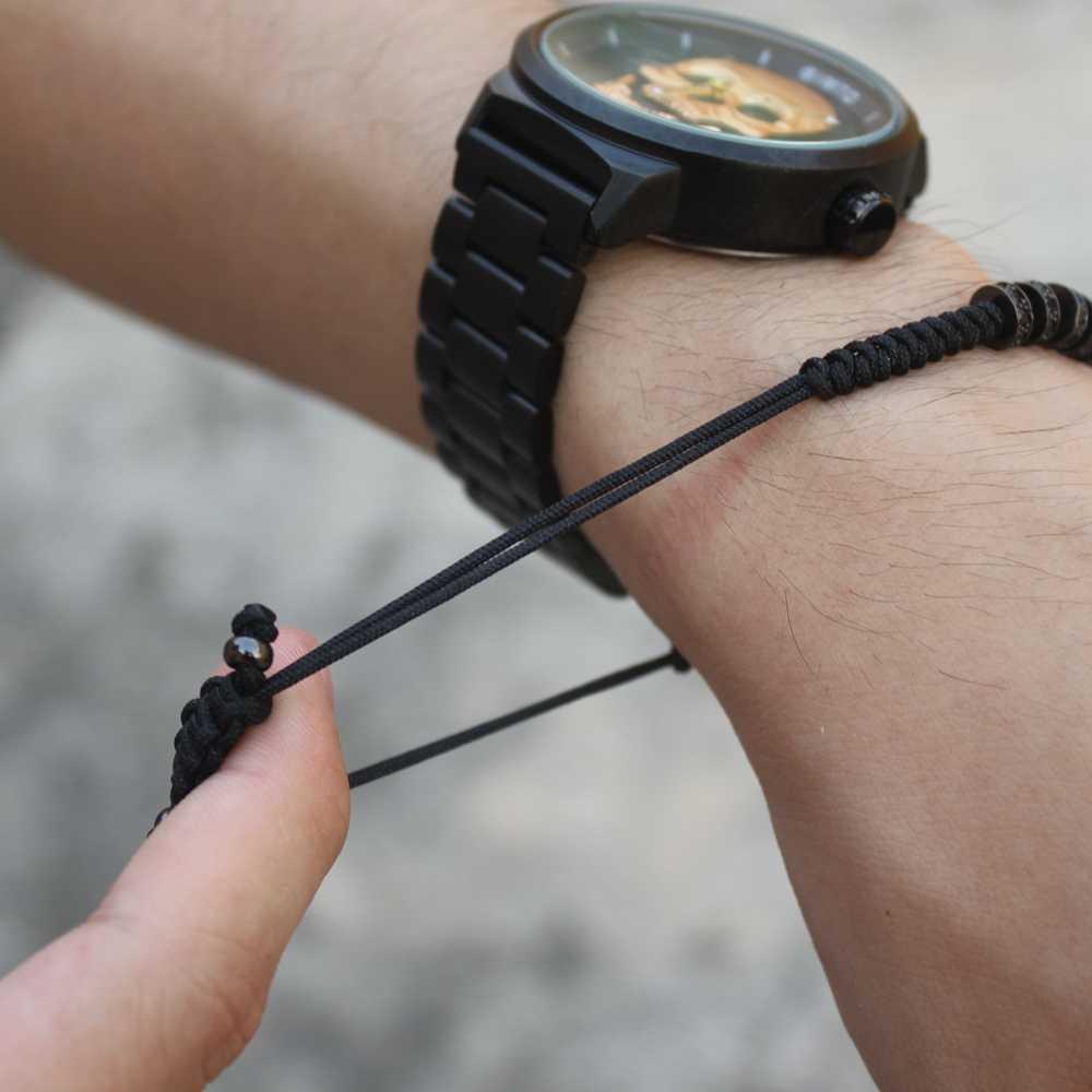 3 шт./компл. панк CZ Micro Pave Корона Бусины Браслет для Для мужчин Для женщин плетеная веревка Сеть класса люкс Модные украшения подарок Размер 16-25 см