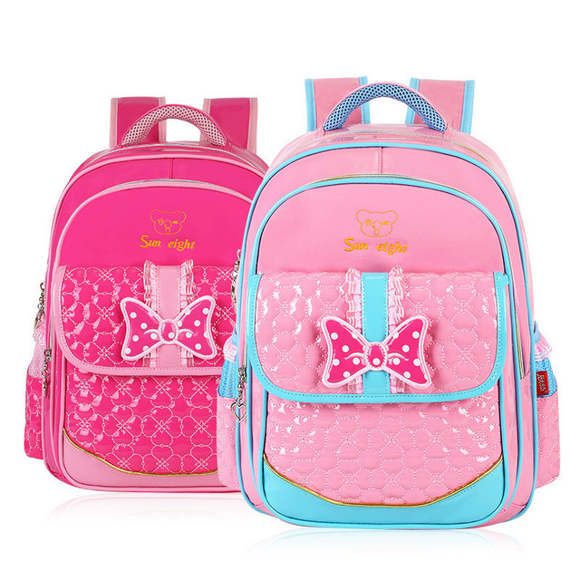New fashion bow bag high quality waterproof bag cute teenage girls spend leisure children's school bags backpack schoolbag