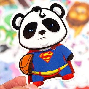 Image 3 - 32PCS Cartoon Animal Stickers Kids Toy Sticker For DIY Luggage Laptop Skateboard Motorcycle Bike Bedroom Sticker
