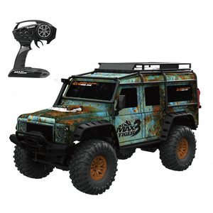 Image 4 - Newest  2.4G Rc Car 4WD 1:10 Retro Car With LED Light RC Buggy Climbing Car RTR Remote Control Car Model Car Outdoor Toys Car