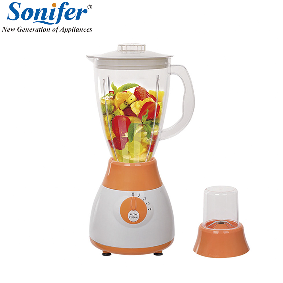 Красочные Многофункциональный Электрический блендер кухонных миксер 4 скорости стоя блендер Овощной Мясорубка стоят смесь Sonifer
