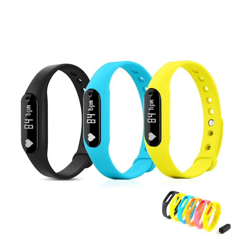 Smartband C6 Bluetooth font b Smart b font Band Bracelet Bangle Heart Rate Passometer Fitness IP67