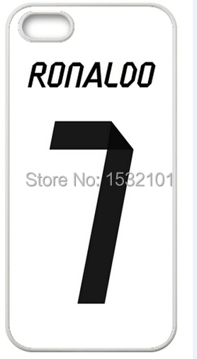 Ronaldo 7 Football Cover Case for iPhone 4S 5S SE 5C 6 6S 7 Plus Samsung Galaxy S3 S4 S5 Mini S6 S7 Edge A3 A5 A7 Note 2 3 4 5