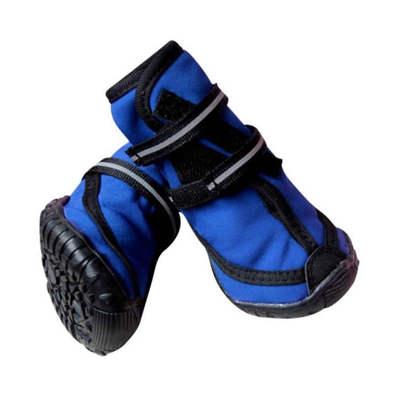 4 Pc/ Set Pet Waterproof Rain Shoes For Medium Large Dogs Multi Colors Optional Dog Rain Boots
