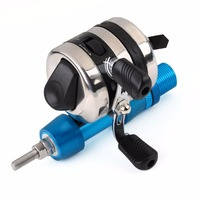 Bow Slingshot Fishing Reel Spincast Gear Ratio 3.4:1 with Bowfishing Reel Seat Free shipping