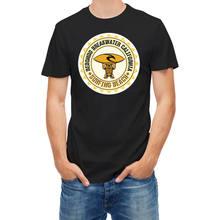 Camiseta de manga corta para surfista, camiseta de manga corta a la moda de California