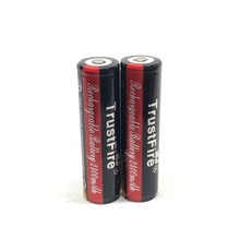 2pcs/lot TrustFire Protected 18650 Colorful Battery 3.7V 2400mAh Rechargeable Lithium Batteries with PCB For Camera Torch Flashlights