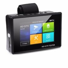 4-дюймовый 4 K H265 H264 IP камера тестер 8MP AHD/TVI/CVI CVBS тестер систем Скрытого видеонаблюдения с дисплеем контроллер PTZ Быстрый ONVIF ipc-тестер POE