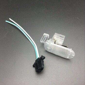 עבור פולקסווגן טוראן גולף MK4 פאסאט B5 לסקודה אוקטביה פנים תא אחסון תא כפפות אור ומחבר מנורת 1J0 947 301