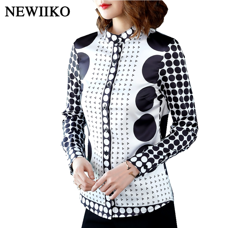 Fashion Floral Print Blouse Shirt Women 2019 Slim Tops Long Sleeve Blouses Office Shirts Ladies Work Wear Casual blouse