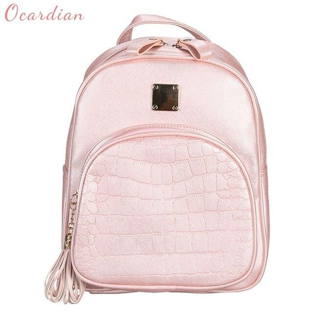 5677cb724 OCARDIAN mochila Mulheres de Pedra Padrão de Moda Bolsa Escola Bolsa de  Viagem Mochila Saco Made