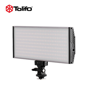 Pt-30B 30 Ws Bicolor LED Video Light Portable Panel with LED Display and Hotshoe Mounted for Camera and DSLR or Camcorder