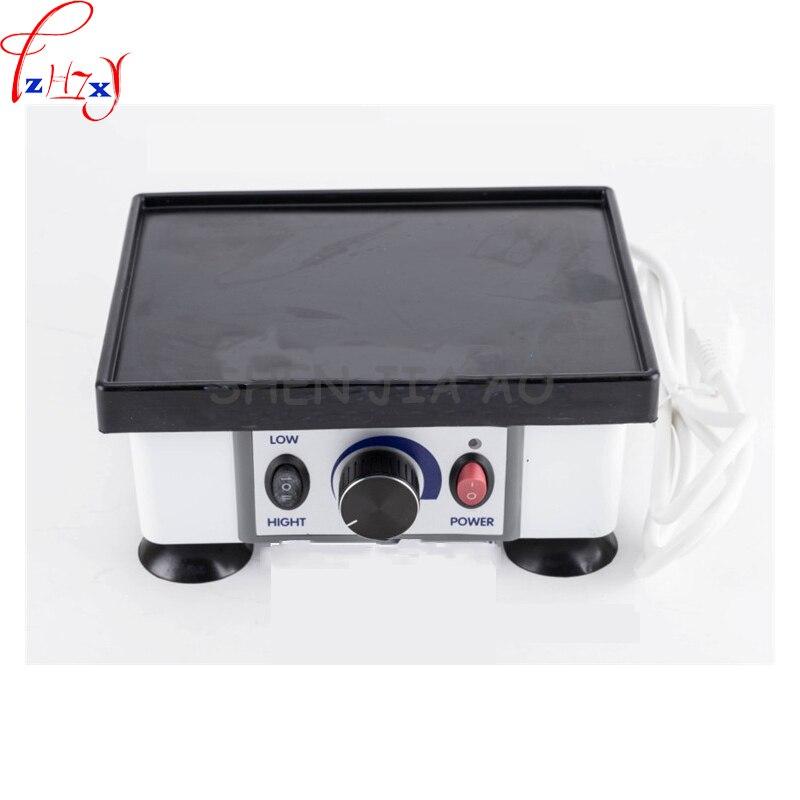 1PC Desktop Dental Gypsum Oscillator JT-51B Dental Small Square Oscillator 120W High Power Gypsum Oscillator Machine 220V