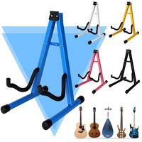 Homeland Guitar Stand Universal Folding A Frame Use For Acoustic Electric Guitars Floor Stand Holder Portable