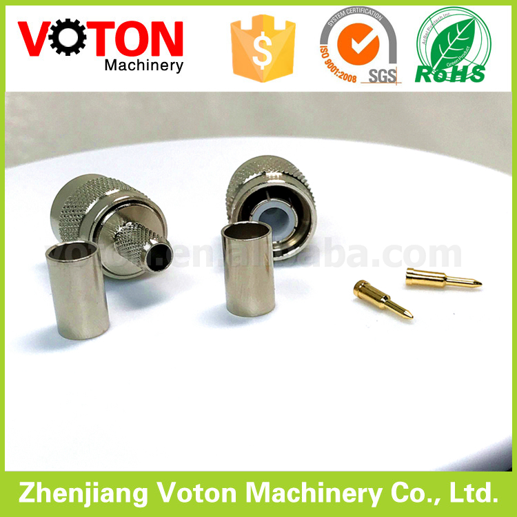 10pcs SMA Adapter SMA Female to N Male Teflon Insulation Nickel Plated Body