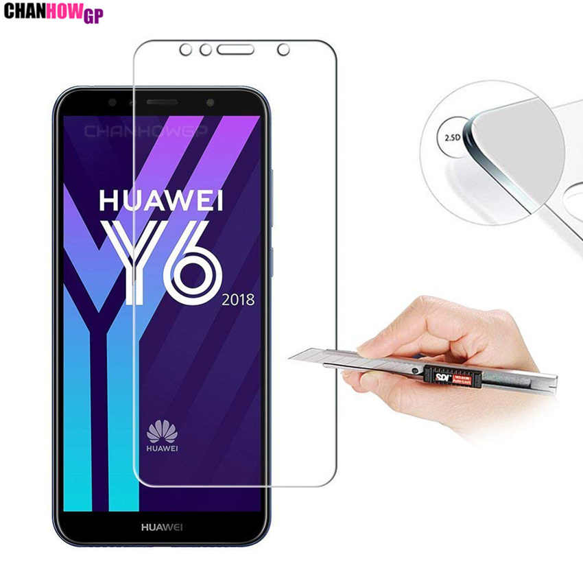 Tempered Glass For Huawei Y5 Y6 Y7 Y9 2018 Prime Screen Protector Protective For Huawei Y3 Y5 Y6 2017 Y6 Pro Y5II Y3II Sklo Capa