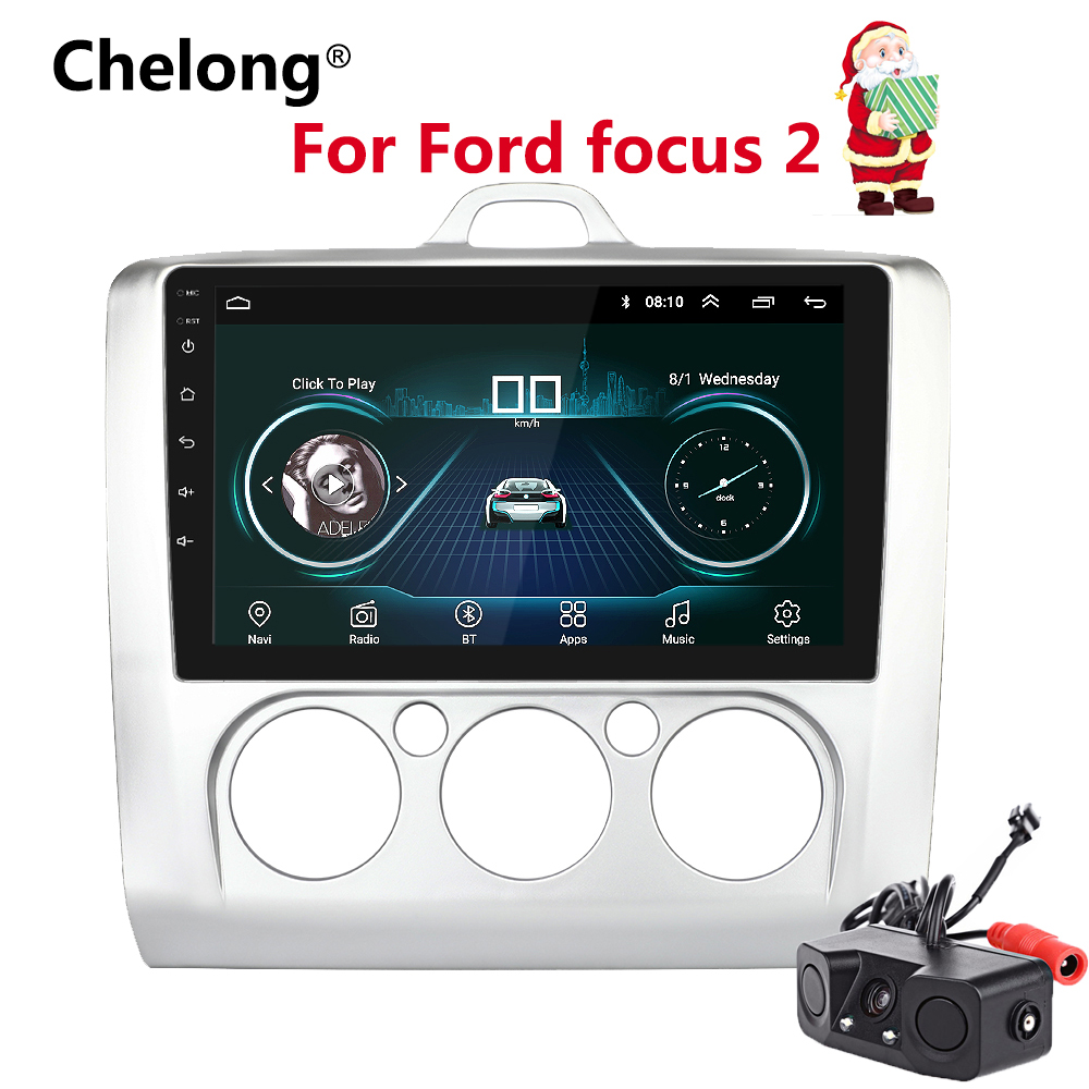 9 inch 2din android 8 1 car radio for 2005 2011 ford focus autoradio gps navigation bluetooth. Black Bedroom Furniture Sets. Home Design Ideas