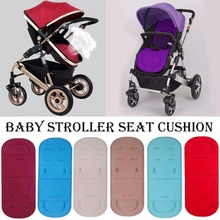 New Soft Mattress Baby Stroller Cushion Pad Accessories Baby Stroller Seat Cushion Kids Pushchair Car Cart High Chair Seat Troll baby kids children high chair cushion cover booster mats pads feeding chair cushion stroller seat cushion