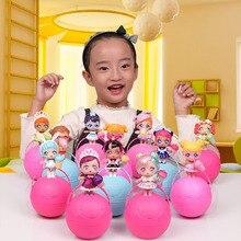 Eaki все серии Натуральная Детская игрушка «сделай сам» для lol куклы с Оригинальная коробка Puzzle игрушки глухая коробка для детей подарки на день рождения