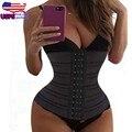 Mulheres trainer cintura emagrecimento shaper espartilho cueca corretiva para as mulheres corpo shaper underbust firm tummy controle shapewear