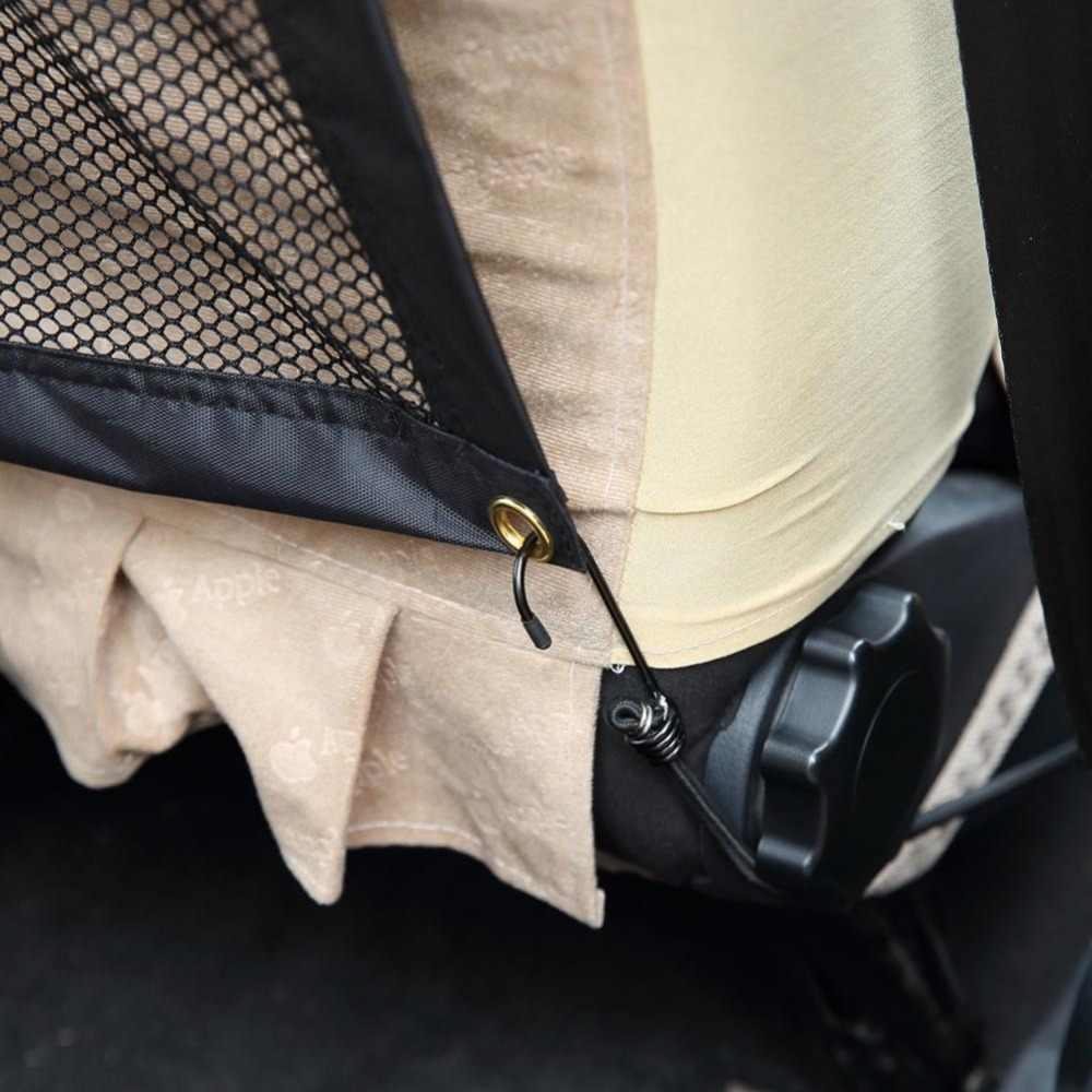 سيارة شبكة الضميمة سياج للحيوانات الاليفة الكلب سلامة الأطفال الحيوانات الأليفة السيارات السيارات الخلفي الحرس مقعد الكلاب شبكة السلامة طوي شبكة من النيلون الحاجز
