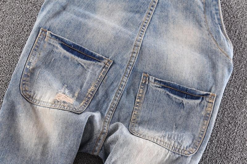 Jeans Pantalon Paillettes Rue Preppy De Dessinée Arrivent Lâche Style Jeans Bande Nouveau Salopette PBwFSxqF