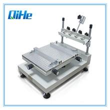 Прямая с фабрики низкая цена маленькая трафаретная печатная машина SMT трафарет паяльная паста принтер машина