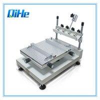 Прямая продажа с фабрики низкая цена небольшой экран печатная машина SMT трафарет паяльная паста принтер машина