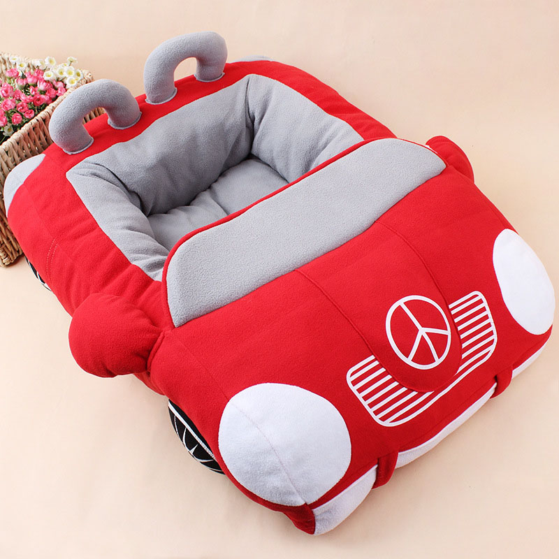 online shop cool unique dog car beds detachable pp cotton padded small dog house waterproof bottom chihuahua puppy sofa bed aliexpress mobile