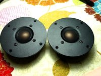 Pair 2pcs Melo David Davidlouis Audio SUPER Copper Beryllium Dome Tweeter KO XT25 D25 D2095 9300