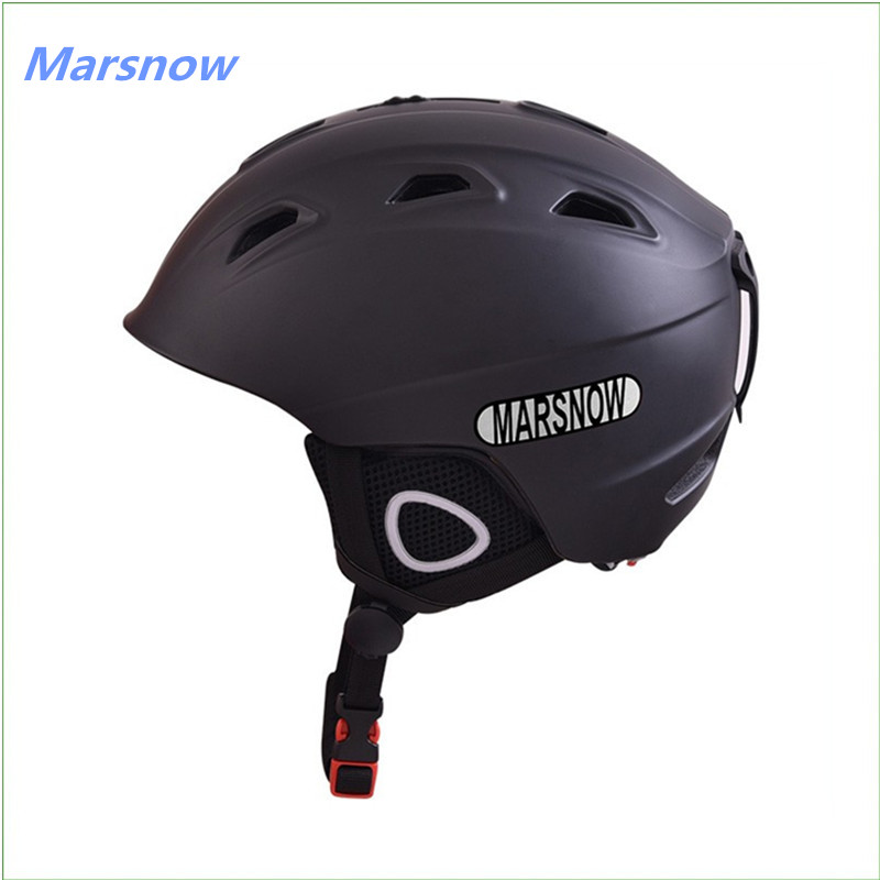 цена Marsnow Brand Professional Ski Helmets Children Adult Male Ladies Skateboard Skiing Protective Snowboard Sports Safety Helmets