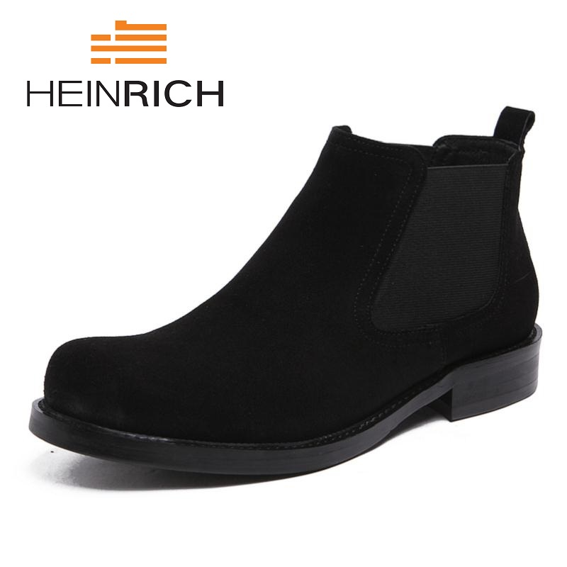 HEINRICH 2018 Spring/Autumn Man Fashion Comfortable Shoes Leisure Slip-On Band Men Boots Botas Militares Botas De CombateHEINRICH 2018 Spring/Autumn Man Fashion Comfortable Shoes Leisure Slip-On Band Men Boots Botas Militares Botas De Combate