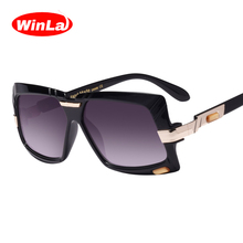 Winla Sunglasses Square Luxury Brand Designer High Quality Sun Glasses 2018 Women Men Accessories gafas de sol UV400 Lens WL1011