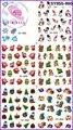 10 шт./лот рождество и хэллоуин и пасха и новый год дизайн ногтей стикер 120 образцов 1 воды пропуск