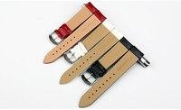 новый дизайн maikes мм 12 мм 14 мм 16 мм 18 мм 20 мм белый мягкий ремешок для часов из блестящей лакированной кожи ремешки для наручных часов из натуральной кожи