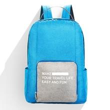 abay 2019 New fashion trendCationic Folding Double  Shoulder Pack Student Shu baoniujinbu Backpack Business Gift Backpa