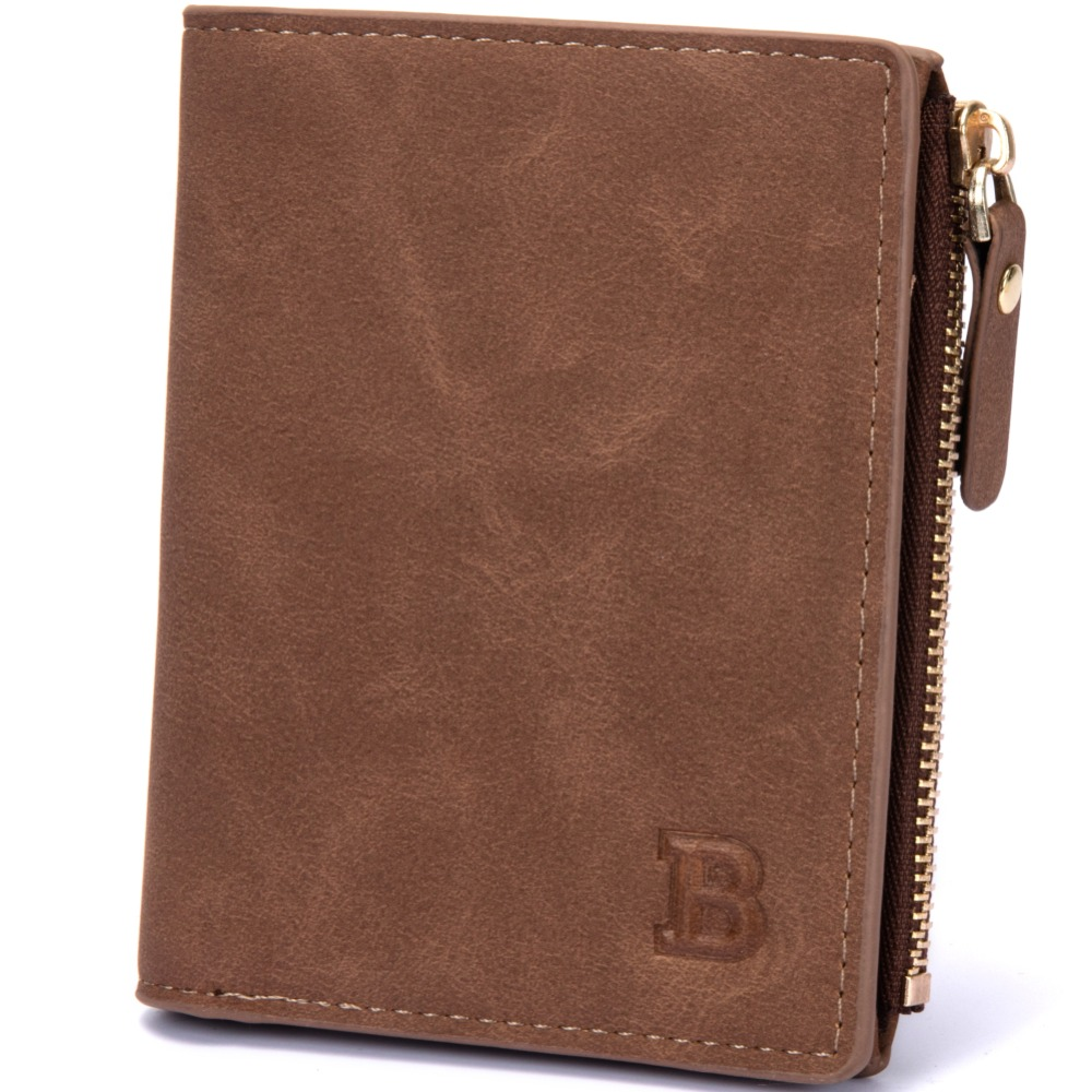 2018 Fashion PU Men Wallet Small Men Clutch High Quality Business Male Wallets Money Coin Pocket Card Holder Zipper Purse W075 aim 2018 new fashion men coin purse black color men s small wallet change purses money bags pocket wallets key holder q236