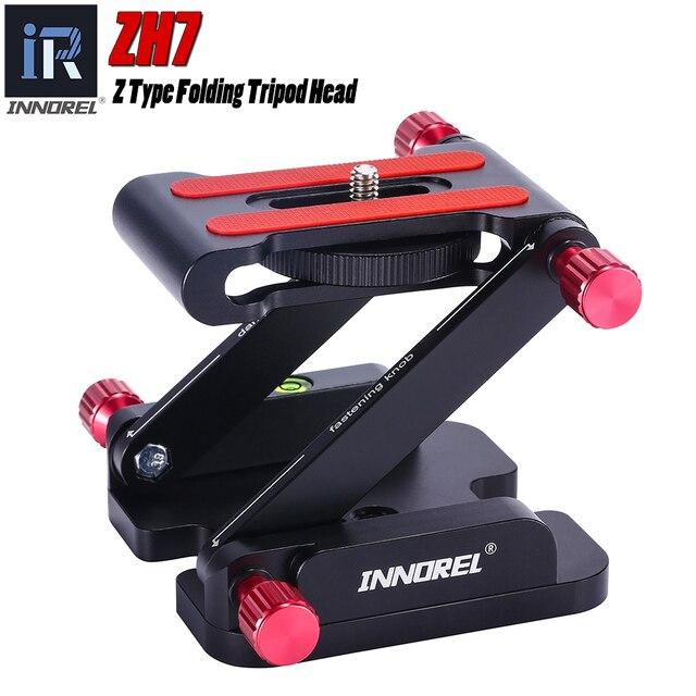 INNOREL ZH7 แบบพกพา Z Type กล้องพับขาตั้งกล้องแพนเอียง dslr rail และเดสก์ท็อป