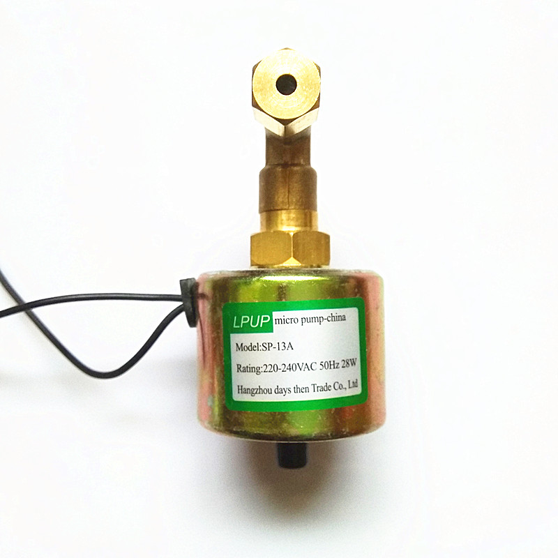 Coffee machine High pressure electromagnetic pump Model SP 13A Power 220 240VAC 50Hz Power 28W in Pumps from Home Improvement