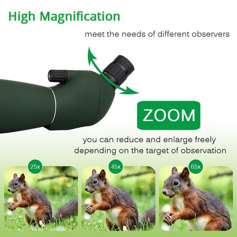 Svbony SV28 50/60/70mm Telescope Zoom Spotting Scope Waterproof Monocular w/ Universal Phone Adapter Mount for Hunting F9308 Islamabad