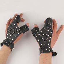 1 piece hand guard protector for fishing slingshot left hand security glove metal removable protecting archery capturing searching