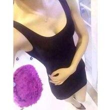 BIVIGAOS Summer Womens Black Gloss Dress Sexy Dress Super-Elastic Shiny Chinlon Mini Vest Dress Vintage Sleeveless Dress Women