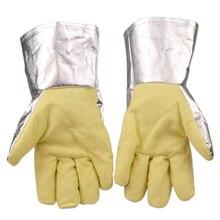 Бесплатная доставка CASTONG hign температуры защиты перчатки износостойкость 34 см длина под 500 по цельсию изоляционные
