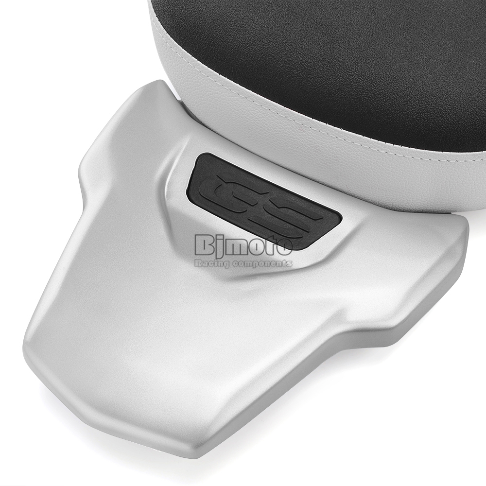 Motorcycle Black Flat Brat Style Tracker Cafe Racer Seat For BMW R1200GS R 1200 GS ADV (9)