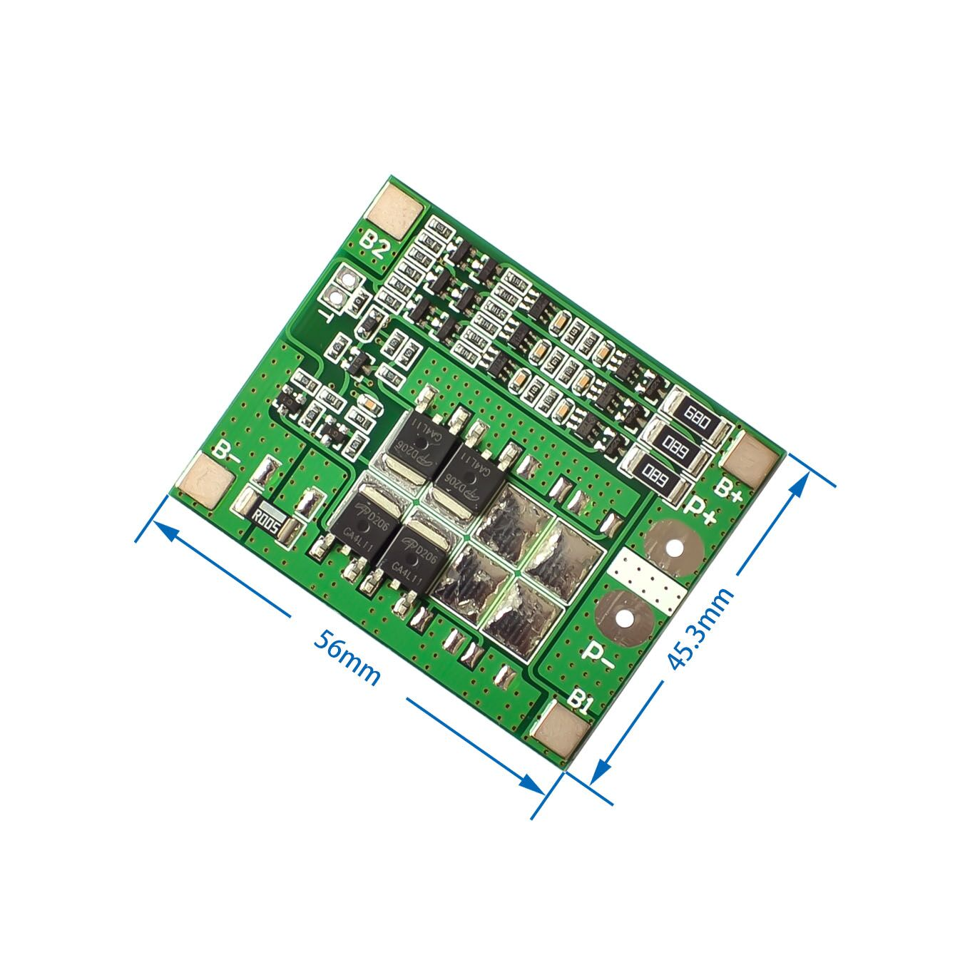 10PCSLOT 3S 15A 11.1V 12V 12.6V Lithium Battery Protection Board Charger Protect Module Balance 18650 Li-ion Lipo Cell Pack bms