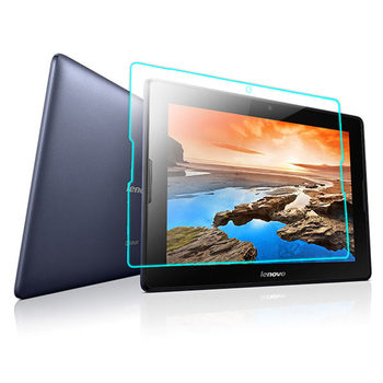 9H HD Tempered Glass membrane For lenovo Tab A7600 A10-70 A10-80HC 10.1 inch Tablet Screen Protector Film tempered glass screen protector pu leather stand cover case for lenovo tab2 tab 2 a10 70 a10 70 a10 70f a10 70lc 10 1 tablet