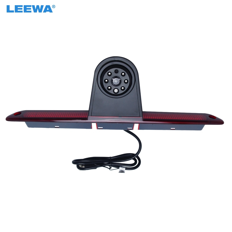 LEEWA Car LED Brake Light IR Rear View Reversing/Parking Camera For Mercedes Sprinter/VW Crafter 2007-2015  #CA5374 tuke rns310 rns315 rcd510 rns510 oem vw tiguan connect the electric wire reversing camera module